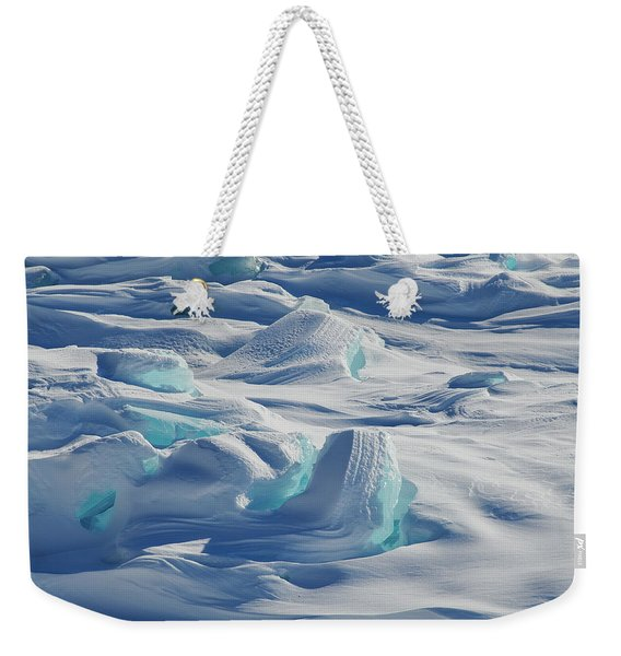 Weekender Tote Bag featuring the photograph Polar Bliss II by Doug Gibbons