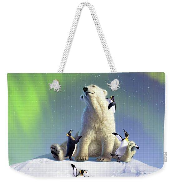 Polar Opposites Weekender Tote Bag
