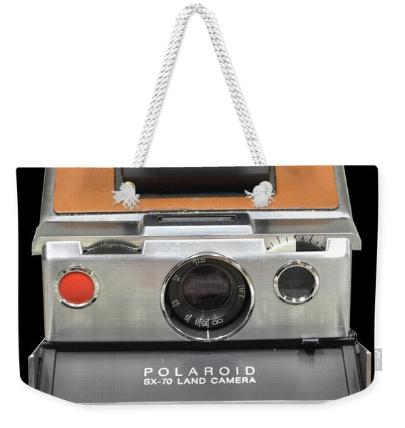 Polaroid Sx-70 Land Camera Weekender Tote Bag