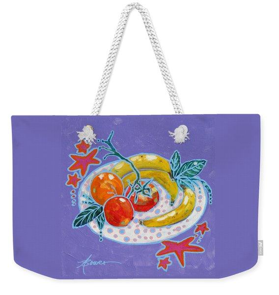 Polka-dot Plate  Weekender Tote Bag