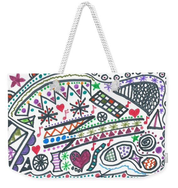 Polly-wolly-doodle Weekender Tote Bag