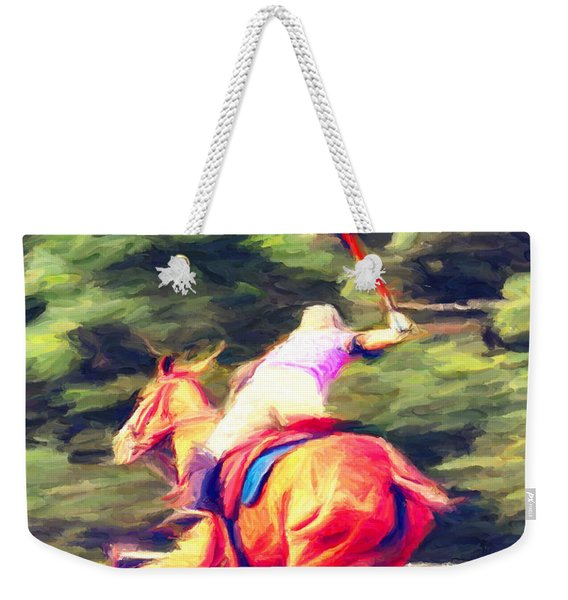 Polo Game 2 Weekender Tote Bag