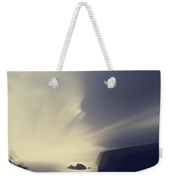 Pololu Valley Moonrise - Hipster Photo Square Weekender Tote Bag