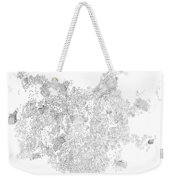 Polymer Crystallization With Modifiers Weekender Tote Bag