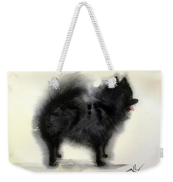 Pometanian Dog3 Weekender Tote Bag