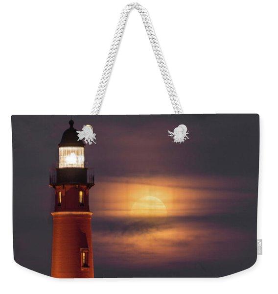 Ponce De Leon Full Moon Weekender Tote Bag
