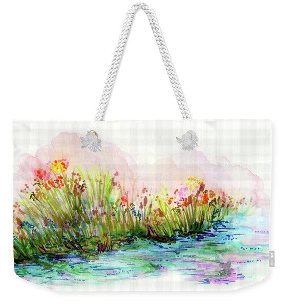 Sunrise Pond Weekender Tote Bag