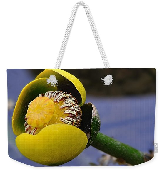 Pond Lily In Bloom Weekender Tote Bag