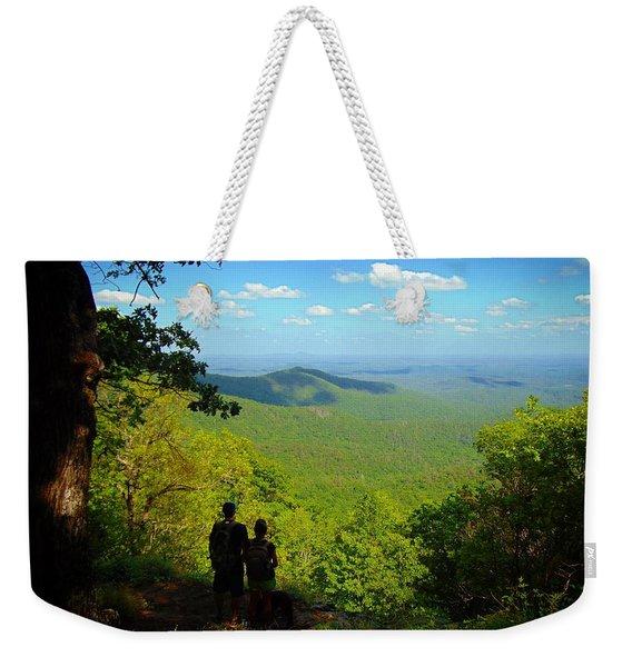 Ponder Weekender Tote Bag