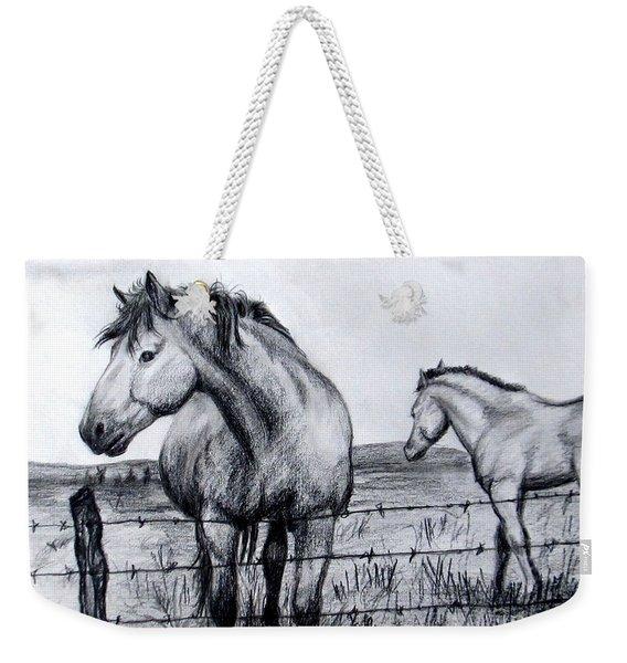 Ponder Texas Horses Weekender Tote Bag