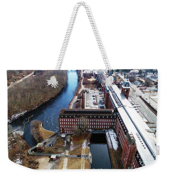 Ponemah Mill Weekender Tote Bag