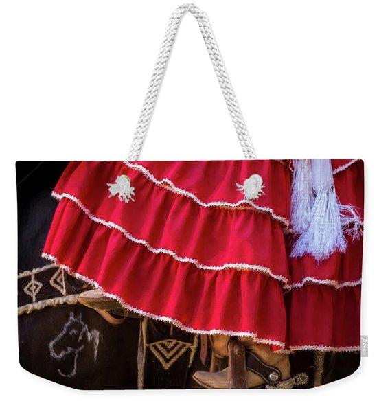 Ponies And Petticoats Weekender Tote Bag