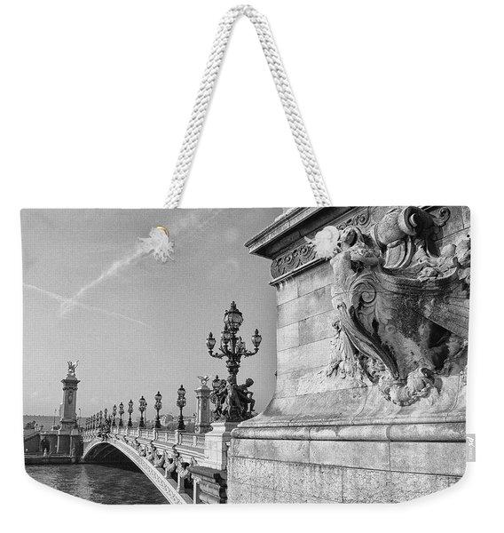 Pont Alexandre Weekender Tote Bag