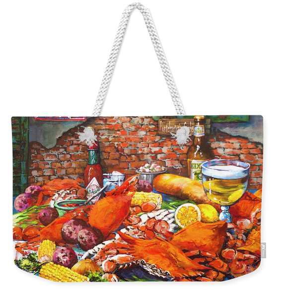 Pontchartrain Crabs Weekender Tote Bag