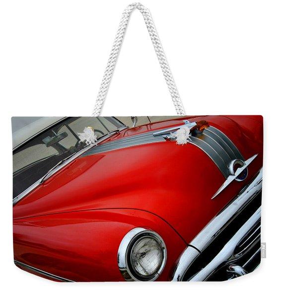 Pontiac Chieftain 1954 Front Weekender Tote Bag