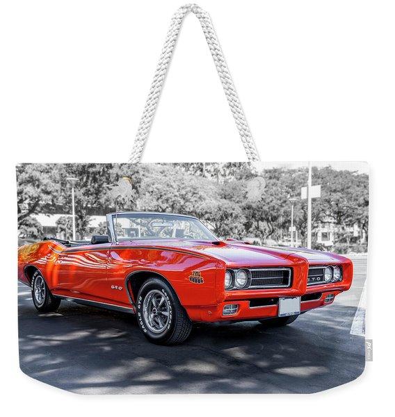 Pontiac G T O Judge Convertible Weekender Tote Bag