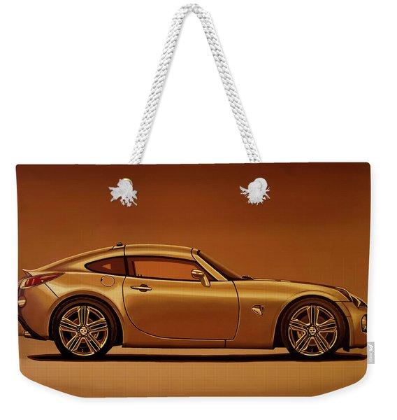Pontiac Solstice Coupe 2009 Painting Weekender Tote Bag