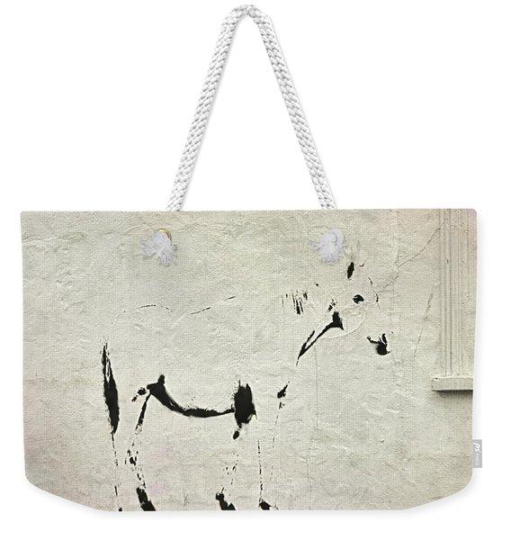 Pony Painting Weekender Tote Bag