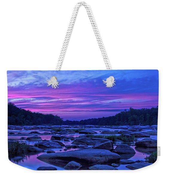 Pony Pasture Sunset Weekender Tote Bag