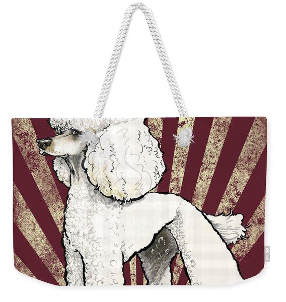 Poodle Revolution Weekender Tote Bag