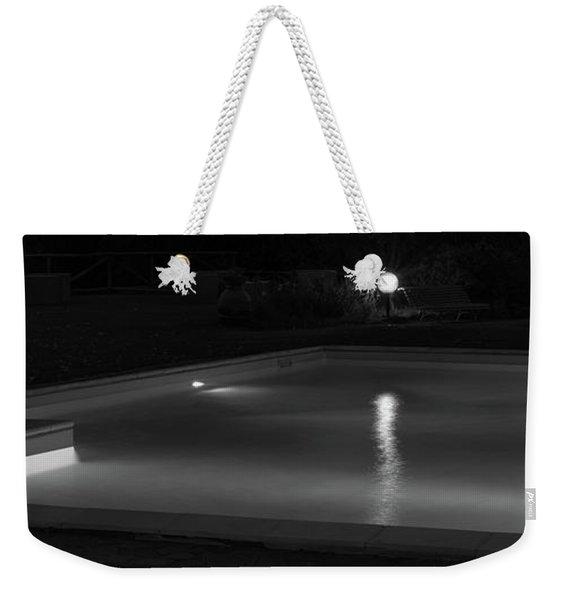 Pool At Night 2 Weekender Tote Bag
