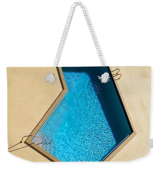 Pool Modern Weekender Tote Bag