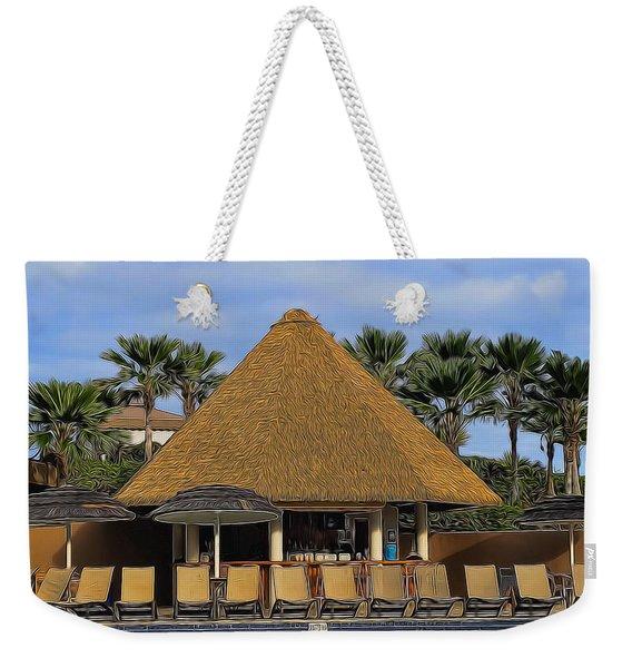 Poolside Drinks Weekender Tote Bag