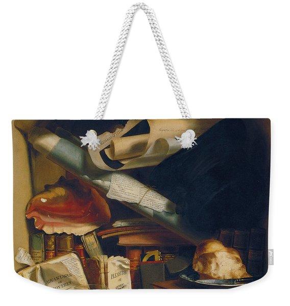 Poor Artist's Cupboard Weekender Tote Bag