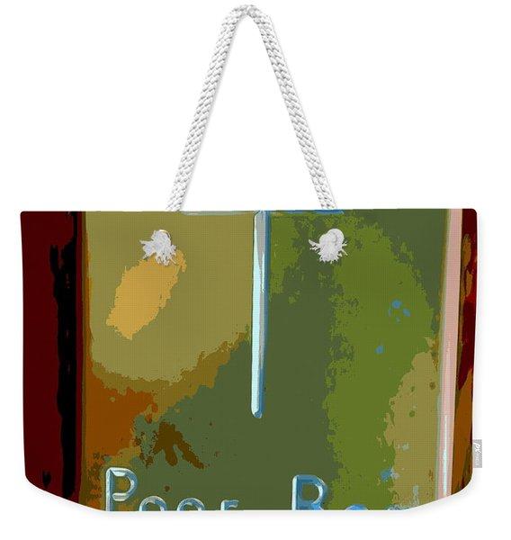 Poor Box Weekender Tote Bag