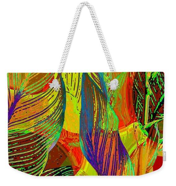 Pop Art Cannas Weekender Tote Bag