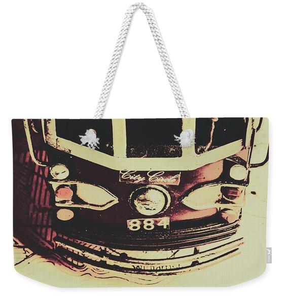 Pop Art City Tours Weekender Tote Bag