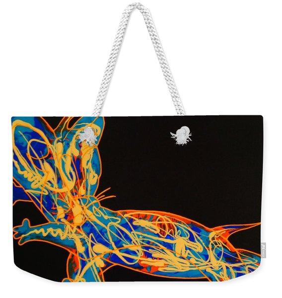 Pop Art Weekender Tote Bag