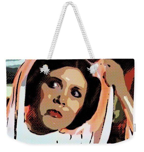 Pop Art Princess Leia Organa Weekender Tote Bag