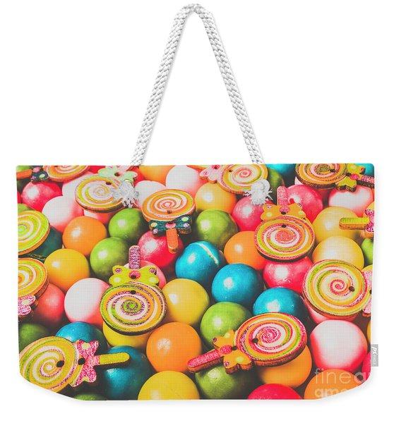 Pop Art Sweets Weekender Tote Bag