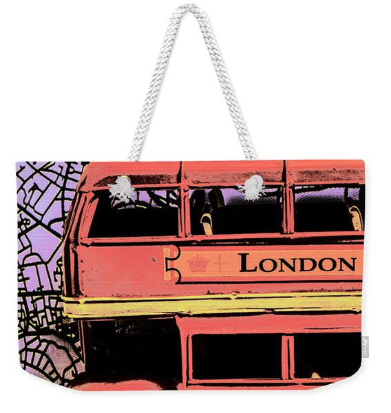 Pop Art Uk Weekender Tote Bag