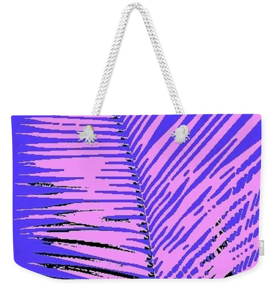 Pop Palm Weekender Tote Bag