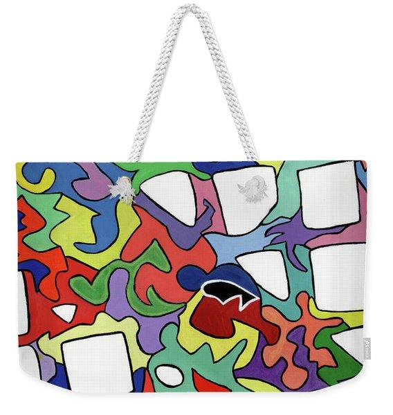Pop-pop Weekender Tote Bag