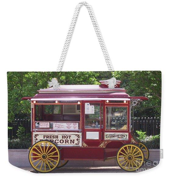 Popcorn Wagon Weekender Tote Bag