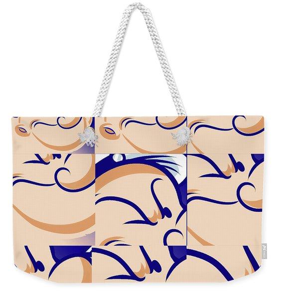 Popeye Zoom Weekender Tote Bag