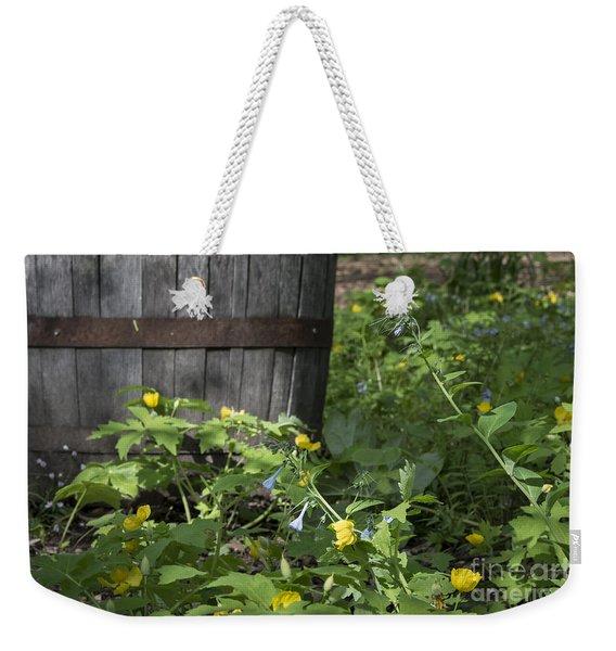 Poppies And Bluebells Weekender Tote Bag
