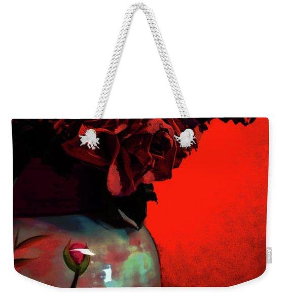 Poppies And Roses Weekender Tote Bag