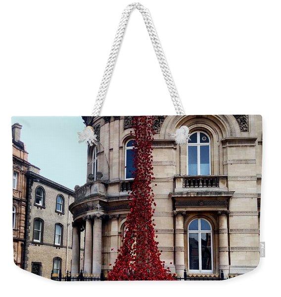 Poppies - City Of Culture 2017, Hull Weekender Tote Bag