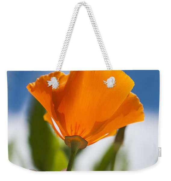 Poppy And Daisies Weekender Tote Bag