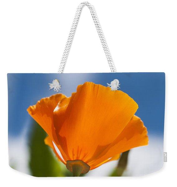 Poppy And Daisies Weekender Tote Bag