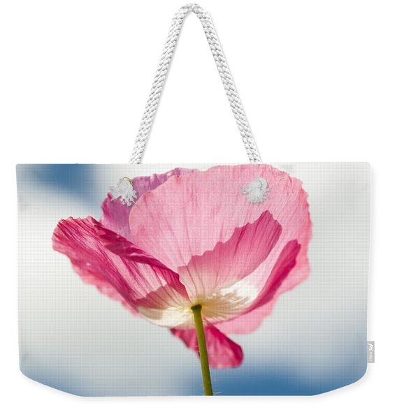 Poppy In The Clouds Weekender Tote Bag