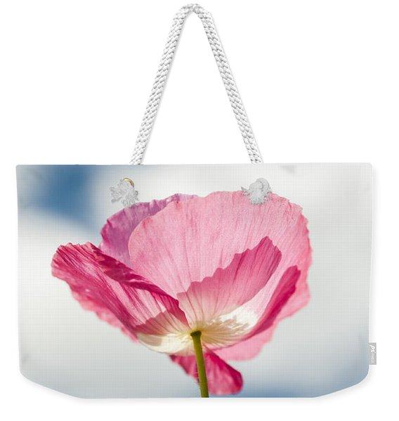 Poppy In The Clouds Weekender Tote Bag