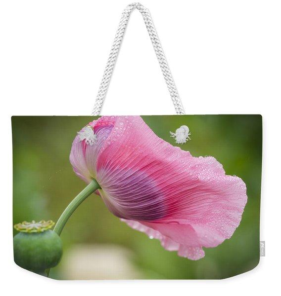 Poppy In The Wind Weekender Tote Bag