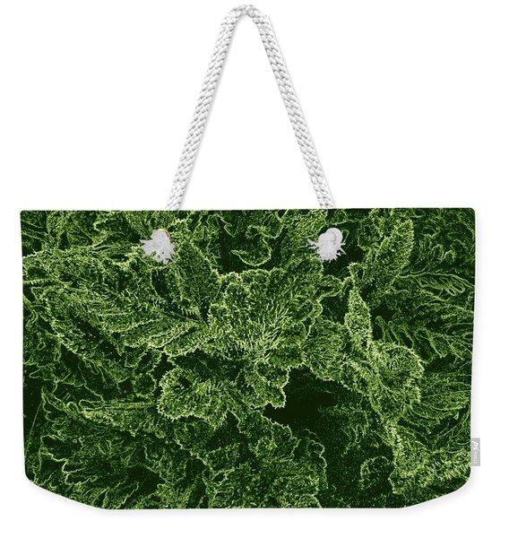 Poppy Leaves Weekender Tote Bag