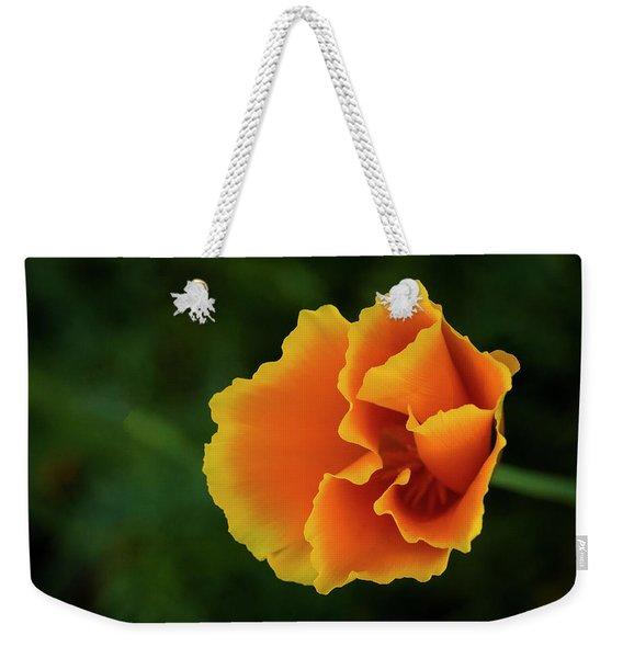 Poppy Orange Weekender Tote Bag