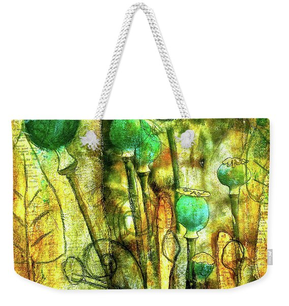 Poppy Pods Weekender Tote Bag